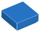 4x LEGO 3070b Piatto 1x1 Nero307026
