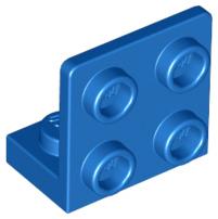 Lego 4x bracket 1x2-2x2 90 ° inverted bracket brown//répugnant brown 99207 new