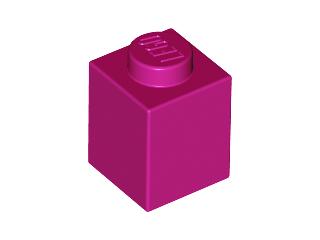 *NEW* 10 Pieces Lego BRICK 1x1 TRANS DARK PINK GLITTER
