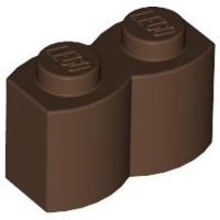 LEGO 1x2 Palisade Bricks Tan---Lot of 10