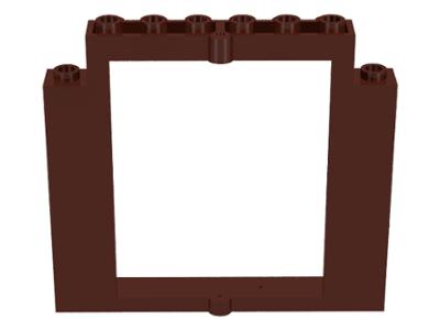 BrickLink - Part 40253 : Lego Door Frame 2 x 8 x 6 Swivel without ...