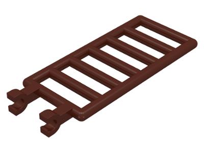 4 Lego Dark Bluish Gray Ladders w// 1x2 clip plates lot castle 6020 bar 7x3