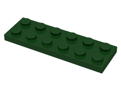 Reddish Brown Flat 2x6 Brown New New 6 x lego 3795 Plate