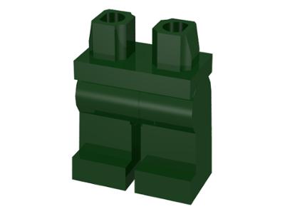 LEGO PART 970C00 MINIFIGURE LEGS HIPS LIGHT GREY