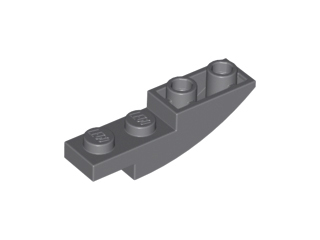 Curved Inverted Select Colour S9 LEGO 13547 4X1  Slope