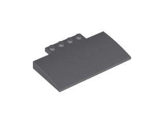 Curved 5 x 8 x 2//3 dark Bluish Gray 6 NEW LEGO Slope