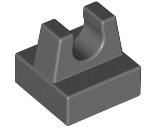 LEGO BLUE 1 x 1 MODIFIED TILE WITH CLIP x 10  PART 2555