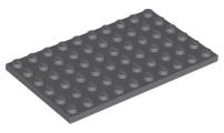 1x Piastra Piatta 6x10 10x6 Grigio//Light Bluish Gray 3033 Nuovo Lego
