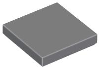 LEGO® Light Gray Tile 2 x 2 Part 3068b