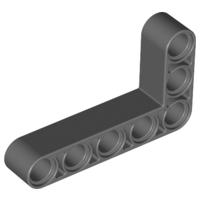 LEGO® Black Technic Liftarm 3 x 5 L-Shape Thick Design ID 32526