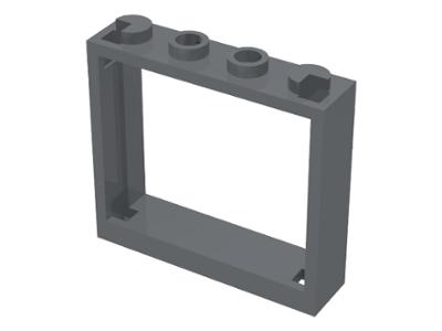 LEGO® White Window 1 x 4 x 3-5 x Items Window Frame Only Design ID 60594