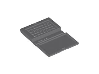 Lego New White Minifigure Utensil Computer Laptop Piece