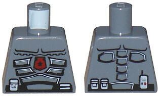 Lego Torso Space Police 3 Officer Pattern