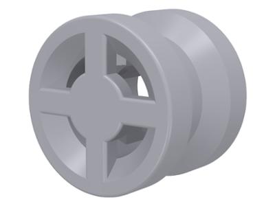 LEGO 4624-10 NEW Light Grey Wheels Per Order