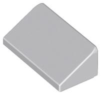 50 NEW LEGO Slope 30 1 x 2 x 2//3 white