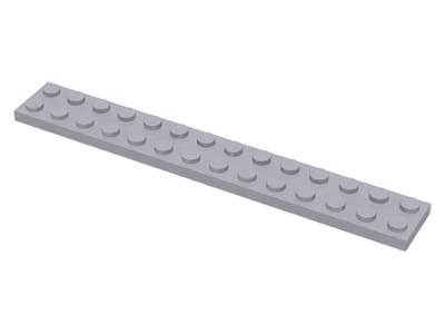 1x Lego Platte 6 x 14 schwarz