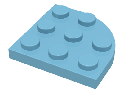 LEGO Lot of 8 Tan 3x3 Corner Plates