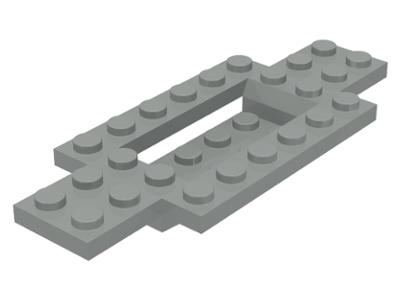 1 NEW Genuine LEGO 4x10 Vehicle Base w 4 Pins Black #30076