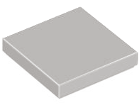 LEGO PART 3068b LIGHT BLUISH GREY TILE 2 X 2 WITH GROOVE 9 PIECES