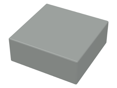 Lego 20 x Tile Tile 3070b New Light Grey 1x1
