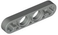 Lego 50 New Black Technic Liftarm 1 x 2 Thin Pieces