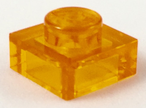 LEGO® Yellow Plate 1 x 1 Part 3024