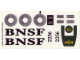 Part No: 10133stk01  Name: Sticker Sheet for Set 10133 - (53049/4263304)