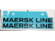 Part No: 10152.3stk03  Name: Sticker for Set 10152-3 - Sheet 3, Large Maersk Line Stickers for Hull (57337/4492356)