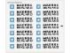 Part No: 10152stk01  Name: Sticker Sheet for Set 10152 - Sheet 1, White Container Sticker Sheet (51745/4248824) MAERSK SEALAND