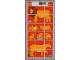 Part No: 1019lion  Name: Paper, Duplo Mosaic Picture Puzzle Key Card from Set 1019 - Lion (197002)