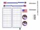 Part No: 10213stk01  Name: Sticker Sheet for Set 10213 - (91551/4587125)