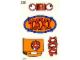 Part No: 128stk01  Name: Sticker Sheet for Set 128-1 - Sheet 1 (190225)