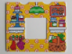 Part No: 13586pb04  Name: Paper, Duplo Wallpaper with Kitchen Interior Pattern (fits inside 11335)
