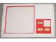 Part No: 1525stk01  Name: Sticker Sheet for Set 1525 - (191065)