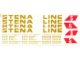 Part No: 1548stk01  Name: Sticker Sheet for Set 1548 - Tan Letter Version - (165285)