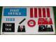Part No: 1589.1stk01  Name: Sticker Sheet for Set 1589-1 - (3497)