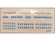 Part No: 1658stk01  Name: Sticker for Set 1658 - Sheet 1 - (194396)