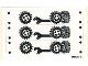 Part No: 1966stk01  Name: Sticker for Set 1966 - Sheet 1 (191245)