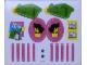 Part No: 230.1stk01a  Name: Sticker Sheet for Set 230-1 - Two Sheet Version - Sheet 1 - (4319)