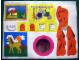 Part No: 232stk01  Name: Sticker Sheet for Set 232 - Single Sheet Version - (4424)