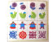 Part No: 260.3stk01  Name: Sticker Sheet for Set 260-3