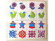Part No: 261.4stk01  Name: Sticker Sheet for Set 261-4