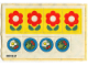 Part No: 263.1stk01  Name: Sticker Sheet for Set 263-1 - (004231)