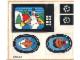 Part No: 264.1stk01  Name: Sticker Sheet for Set 264-1 - (004232)