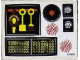 Part No: 268.1stk01  Name: Sticker for Set 268-1 - Sheet 1, Fireplace Tools (190095)