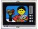 Part No: 268.1stk02  Name: Sticker for Set 268-1 - Sheet 2, Television (190096)