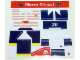 Part No: 2878.4stk01  Name: Sticker Sheet for Set 2878-4