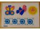 Part No: 292stk01  Name: Sticker for Set 292 - (003502)