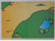Part No: 3092cdb01  Name: Paper, Duplo Playmat with Dirt Road and Pond Pattern, Cardboard from Set 3092