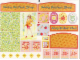 Part No: 3118stk01  Name: Sticker Sheet for Set 3118 - Sheet 1, Cabinet Panels, Decor (72995/4120459)